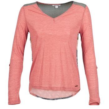 textil Dame Langærmede T-shirts Smash TIRAMISU Pink