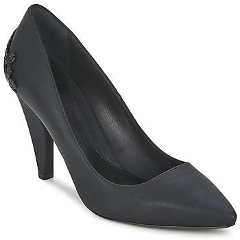 Sko Dame Højhælede sko McQ Alexander McQueen 336523 Sort