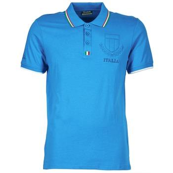 textil Herre Polo-t-shirts m. korte ærmer Kappa OMER Blå