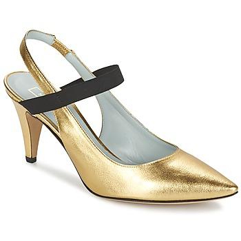 Sko Dame Højhælede sko Marc Jacobs VALERY Guld