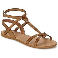 Sko Dame Sandaler So Size BEALO Brun