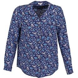 textil Dame Skjorter / Skjortebluser Manoush BANDANA SILK Blå
