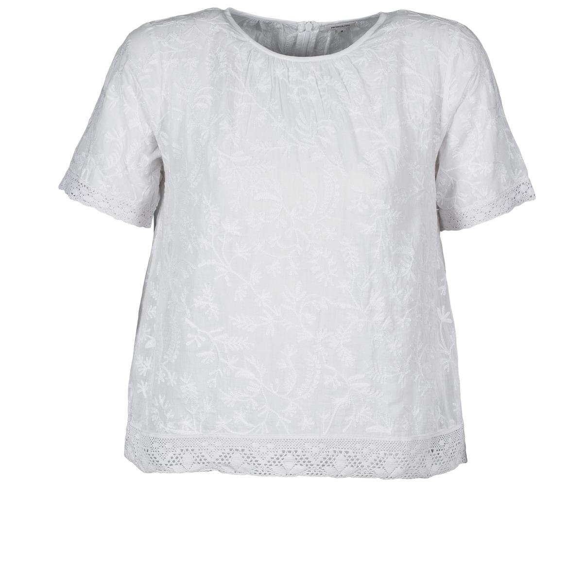 T-shirts m. korte ærmer Manoush  COTONNADE SMOCKEE