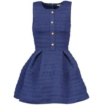 textil Dame Korte kjoler Manoush ELASTIC Blå