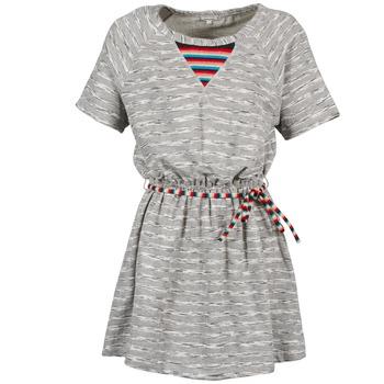 textil Dame Korte kjoler Manoush ETNIC Grå
