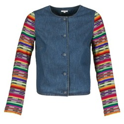 textil Dame Jakker / Blazere Manoush INDIAN DENIM Blå