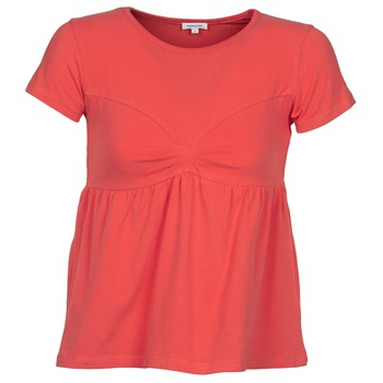 textil Dame T-shirts m. korte ærmer Manoush MOLLETON Koral