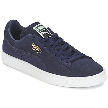 Sko Lave sneakers Puma SUEDE CLASSIC + Marineblå