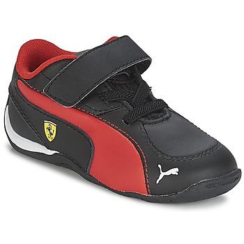 Sko Dreng Lave sneakers Puma DRIFT CAT 5 L SF V KIDS Sort / Rød