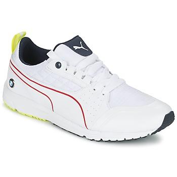 Sko Herre Lave sneakers Puma BMW MS PITLANE Hvid / Gul