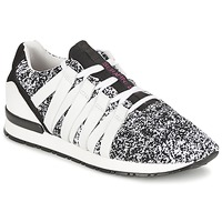 Sko Dame Lave sneakers Serafini MIAMI Sort / Hvid