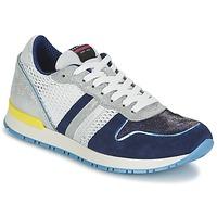 Sko Dame Lave sneakers Serafini LOS ANGELES Blå / Hvid