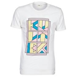 textil Herre T-shirts m. korte ærmer Kulte ANATOLE BLOCK Hvid