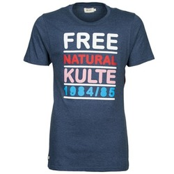textil Herre T-shirts m. korte ærmer Kulte AUGUSTE FREE Blå
