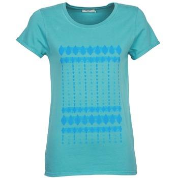 textil Dame T-shirts m. korte ærmer Kulte JULIETTE BATIK Blå