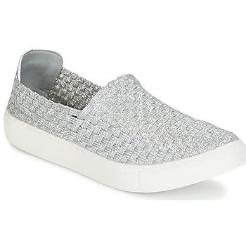 Sko Dame Lave sneakers Moony Mood ESMINE Sølv