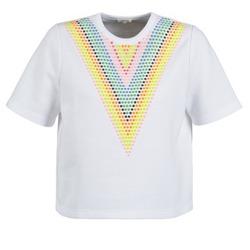 textil Dame Sweatshirts Manoush DOUDOU STAR Hvid