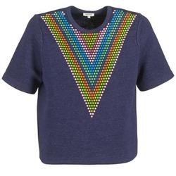 textil Dame Sweatshirts Manoush DOUDOU STAR Marineblå