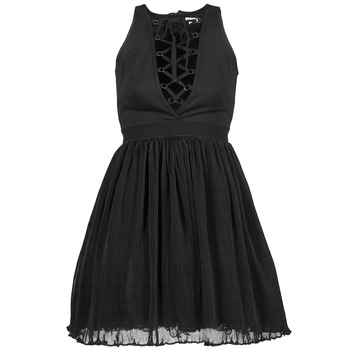 textil Dame Korte kjoler Manoush MARILACET Sort