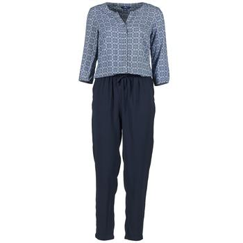 textil Dame Buksedragter / Overalls Tom Tailor UVIALA Blå