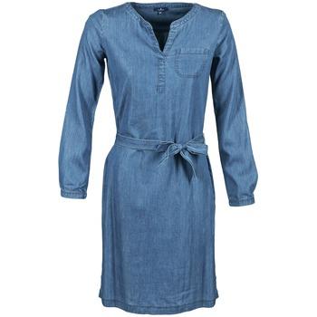 textil Dame Korte kjoler Tom Tailor JANTRUDE Blå / MEDIUM