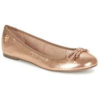 Sko Dame Ballerinaer Menbur ZINNA Pink / GULD