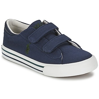 Sko Børn Lave sneakers Polo Ralph Lauren HARRISON EZ Blå