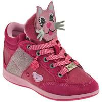 Sko Børn Høje sneakers Lelli Kelly Gattino Rosa