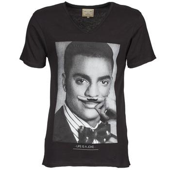 textil Herre T-shirts m. korte ærmer Eleven Paris MARLTON M Sort