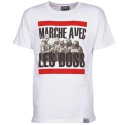 textil Herre T-shirts m. korte ærmer Wati B BOSS Hvid