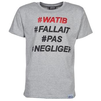 textil Herre T-shirts m. korte ærmer Wati B NEGLIGER Grå