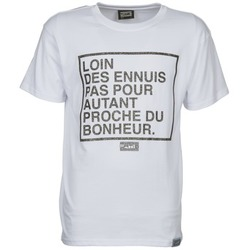 textil Herre T-shirts m. korte ærmer Wati B LOIN Hvid