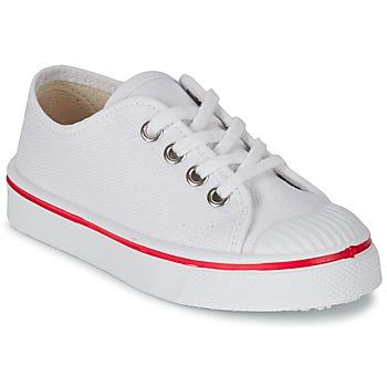 Sko Børn Lave sneakers Citrouille et Compagnie PANA BEK Hvid