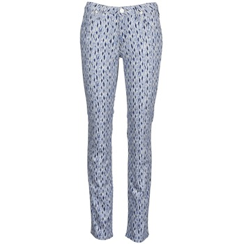 textil Dame Lige jeans Lee MARION STRAIGHT Trykt / Blå