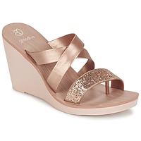 Sko Dame Sandaler Grendha PARADISO II PLAT Pink / Metal