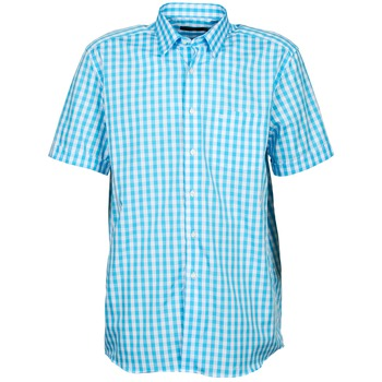 textil Herre Skjorter m. korte ærmer Pierre Cardin 539236202-140 Blå