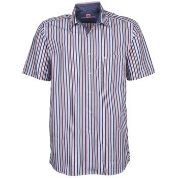 textil Herre Skjorter m. korte ærmer Pierre Cardin 514636216-184 Blå / Pink