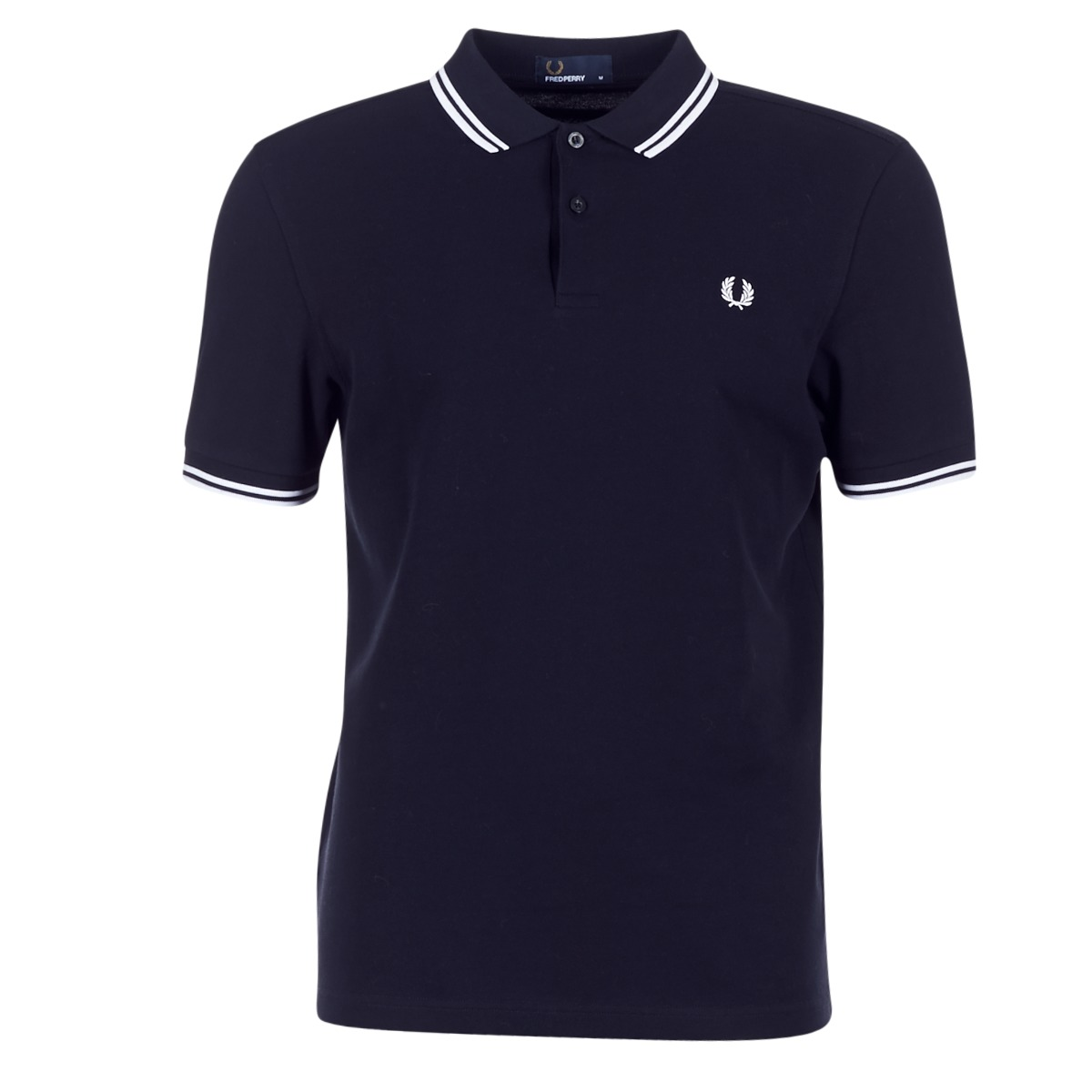 Polo-t-shirts m. korte ærmer Fred Perry  SLIM FIT TWIN TIPPED