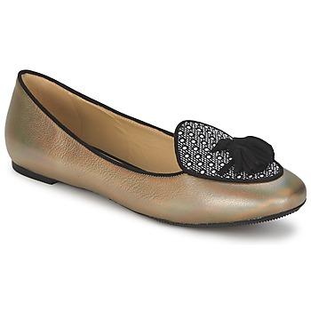 Sko Dame Ballerinaer Etro 3922 Guld