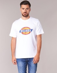 textil Herre T-shirts m. korte ærmer Dickies HORSESHOE Hvid