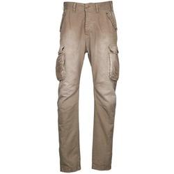 textil Herre Cargo bukser Freeman T.Porter PUNACHO COTTON GAB CHOCOLATE CHIP Brun / BEIGE