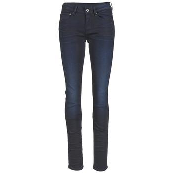 textil Dame Lige jeans G-Star Raw ATTAC STRAIGHT Superstretch / MØRK / ældet