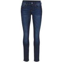 textil Dame Jeans - skinny G-Star Raw LYNN MID SKINNY Blå / Superstretch / Medium / Ældet