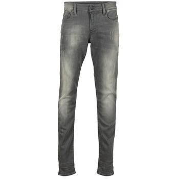 textil Herre Jeans - skinny G-Star Raw REVEND SUPER SLIM Grå