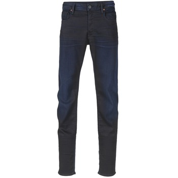 textil Herre Smalle jeans G-Star Raw 3301 SLIM Mørk / Ældet / Super / Stretch / Denim