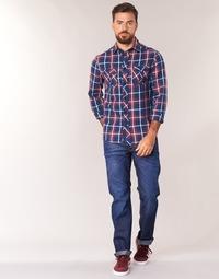 textil Herre Lige jeans G-Star Raw 3301 STRAIGHT Hydrite / Denim / Mørk / Ældet