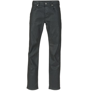 textil Herre Lige jeans G-Star Raw 3301 STRAIGHT Sort