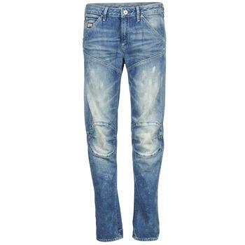 textil Dame Lige jeans G-Star Raw 5620 3D LOW BOYFRIEND WMN MEDIUM / ældet / SCATTER / DENIM