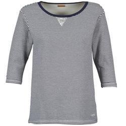 textil Dame Sweatshirts Napapijri BOISSERON Marineblå / Hvid