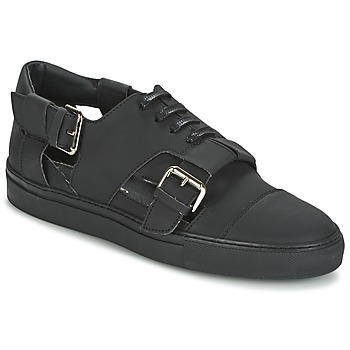 Sko Herre Lave sneakers John Galliano 7813 Sort